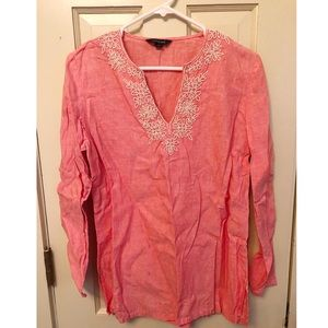 Beaded Lands End Tunic